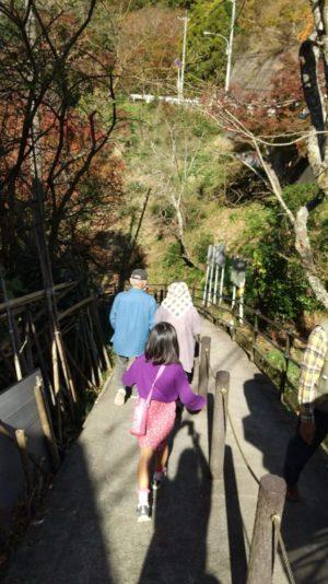 粟又の滝入口