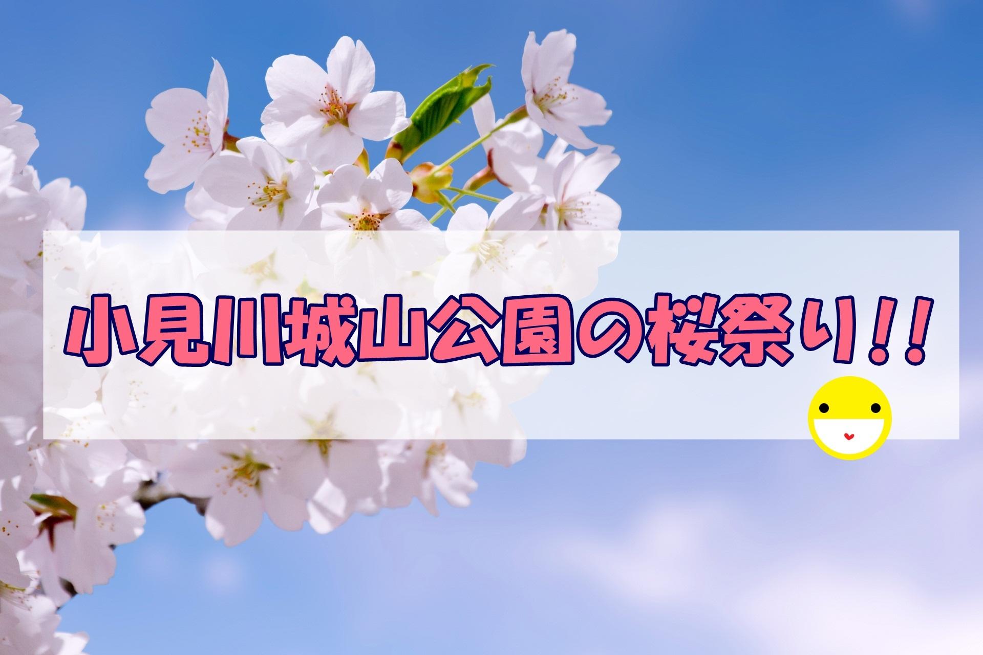 小見川城山公園の桜祭り