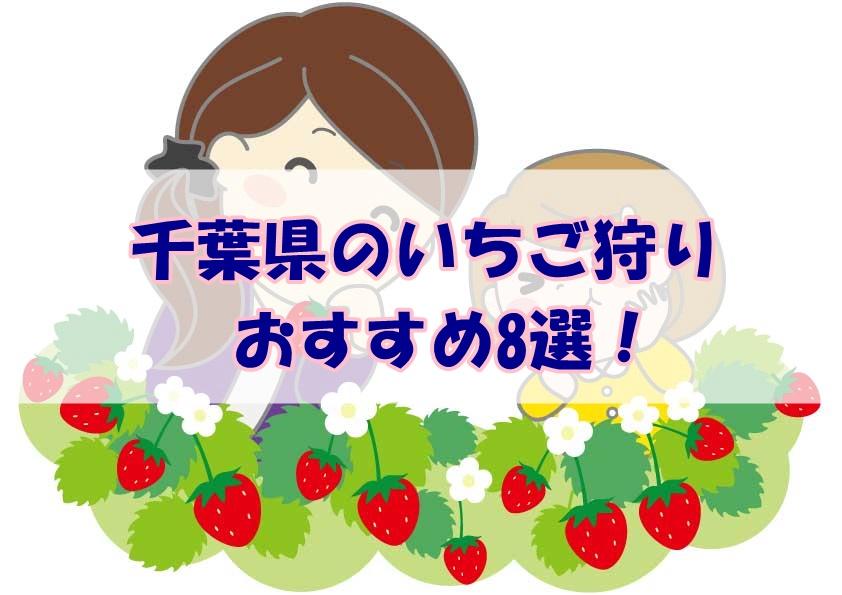 千葉県いちご狩り8選