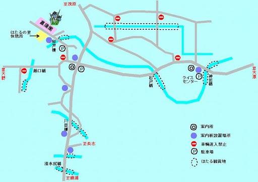 源氏ぼたるの里地図