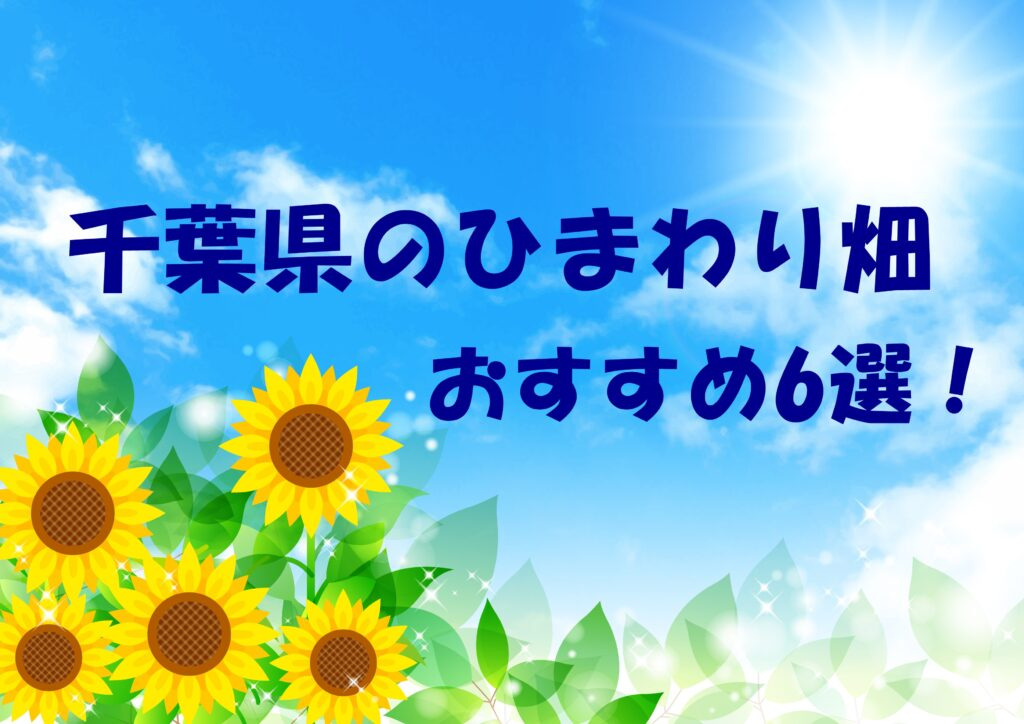 千葉県ひまわり畑6選